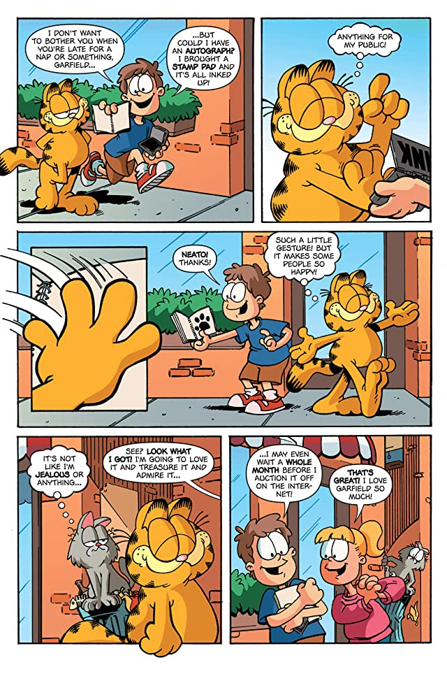 click for super-sized previews of Garfield #7