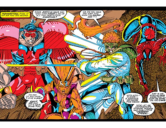 click for super-sized previews of X-Force (1991-2004) #4