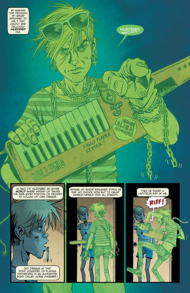 Ghosts (2012) #1