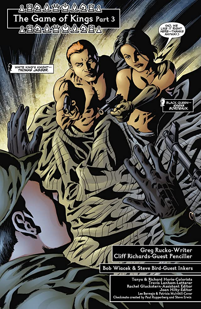 click for super-sized previews of Checkmate (2006-2008) #3