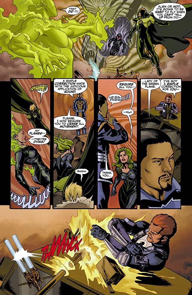 click for super-sized previews of Checkmate (2006-2008) #4