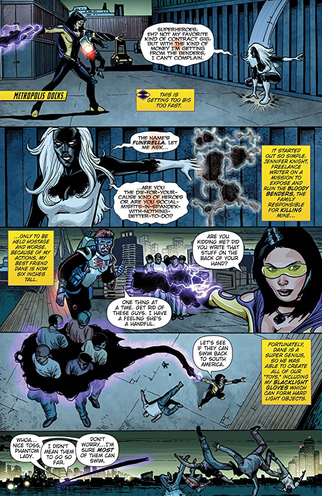 click for super-sized previews of Phantom Lady (2012) #3 (of 4)