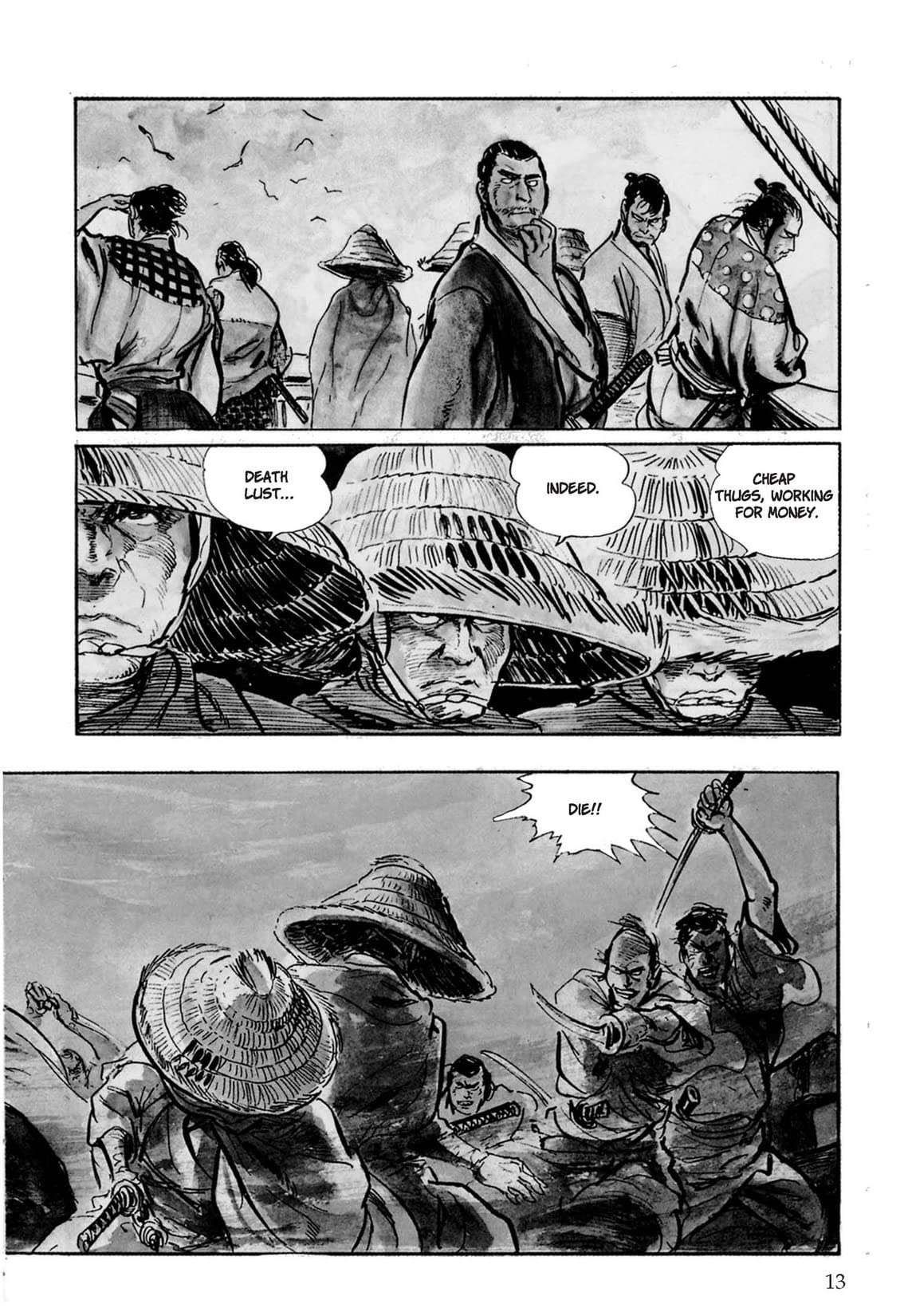 Lone Wolf and Cub Vol. 3: The Flute of The Fallen Tiger
