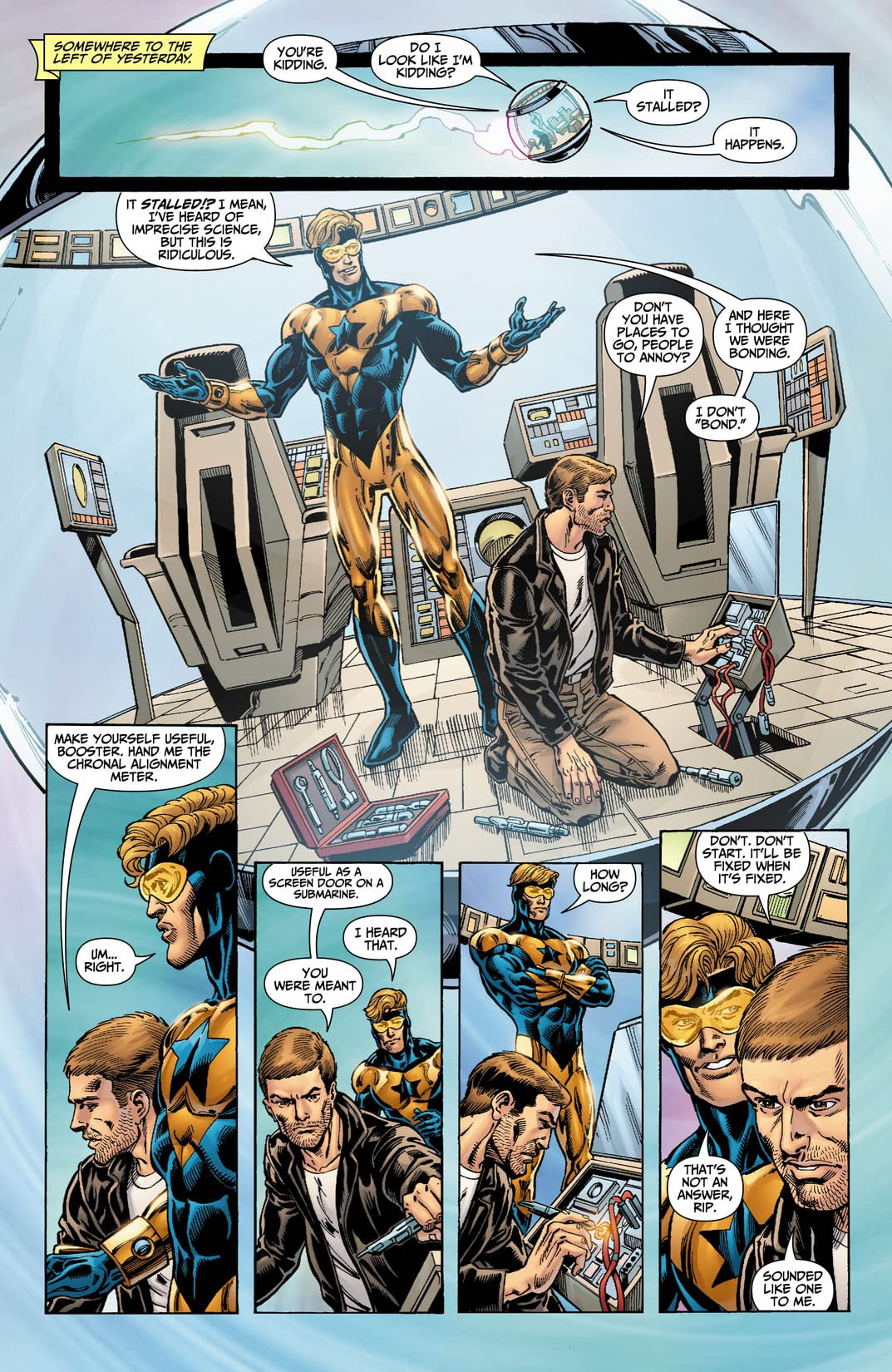 Booster Gold (2007-2011) #20