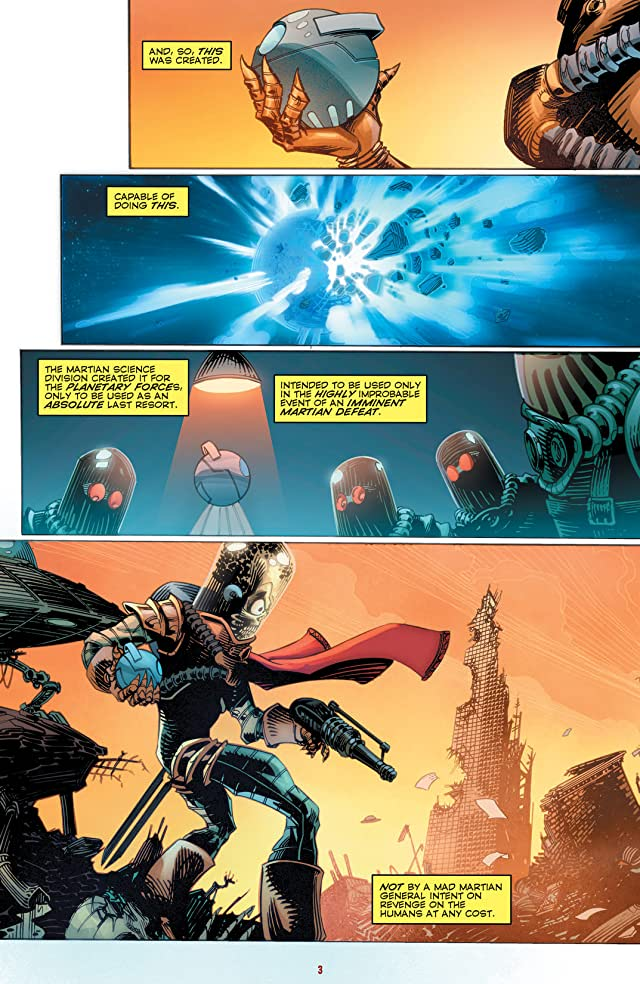 click for super-sized previews of Mars Attacks #5