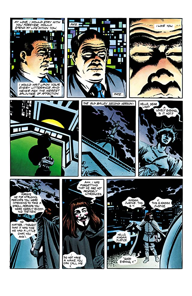 click for super-sized previews of V for Vendetta #2