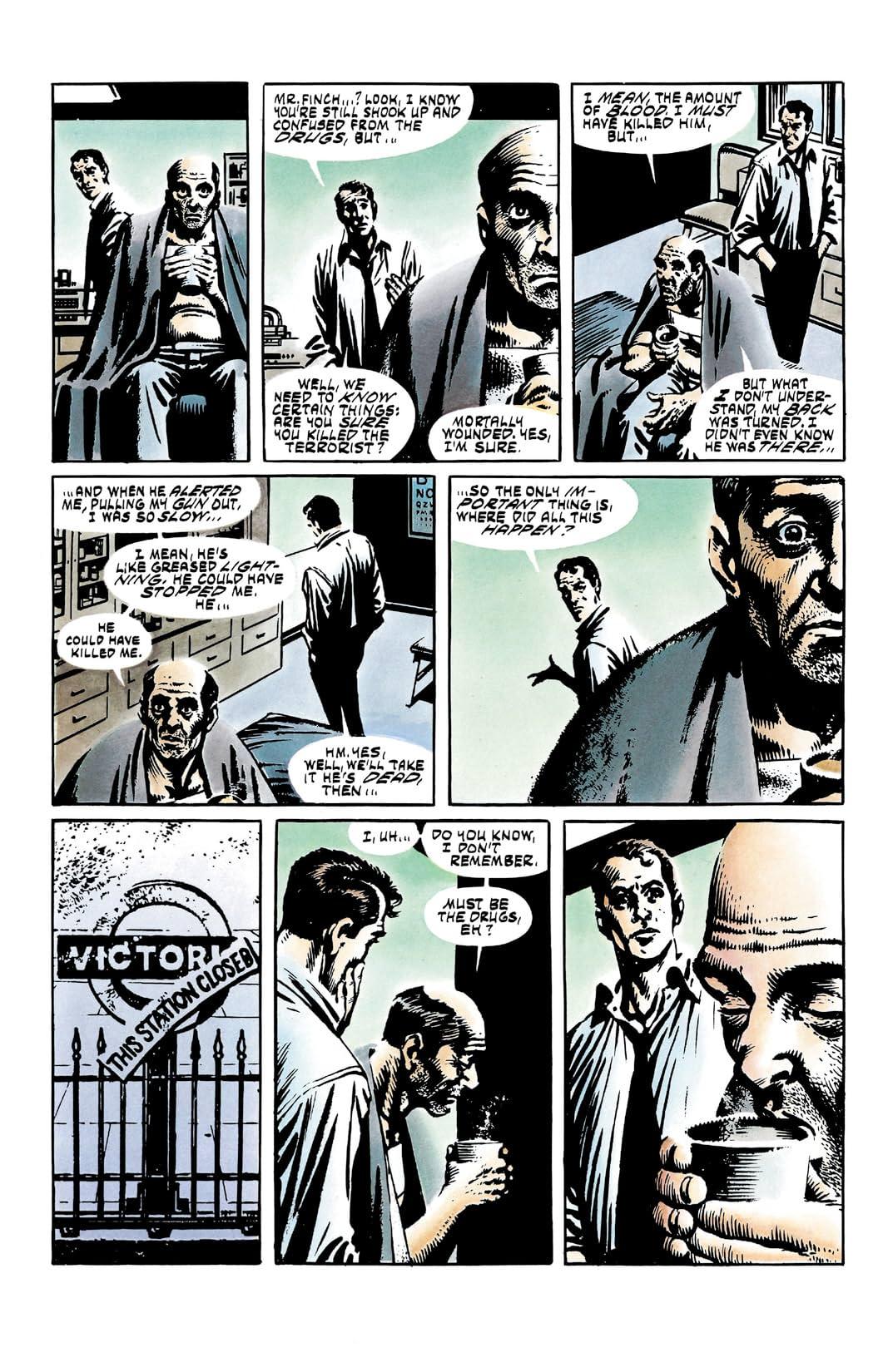 V for Vendetta #10 (of 10)