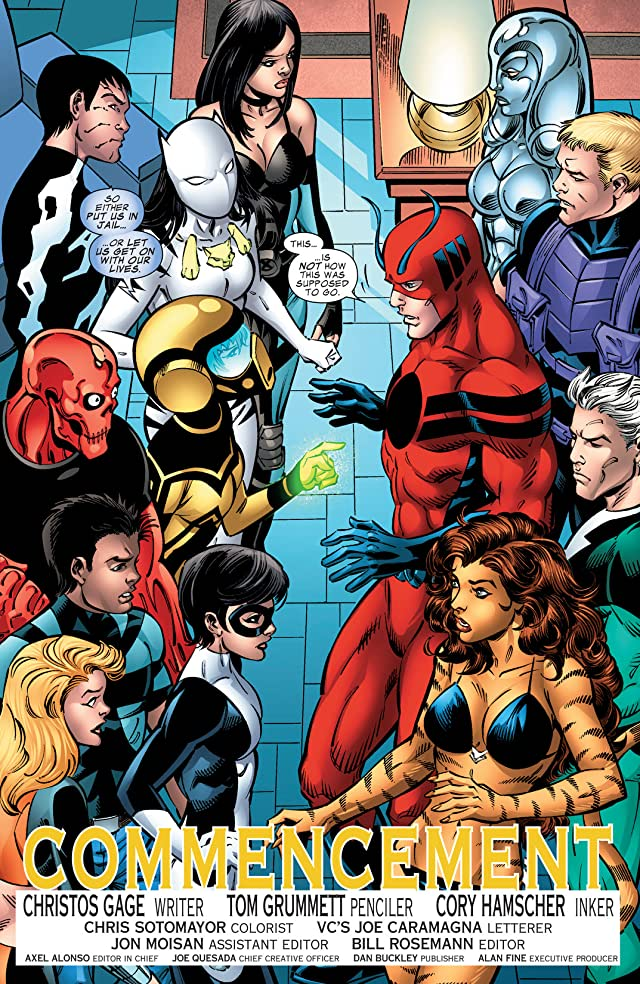click for super-sized previews of Avengers Academy #39