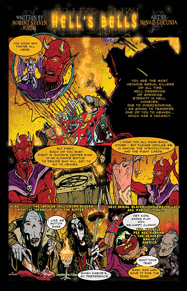 click for super-sized previews of Satan's Circus of Hell #1