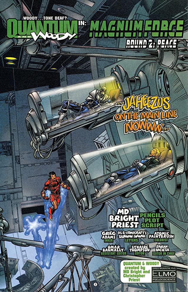 click for super-sized previews of Quantum and Woody (1997-2000) #15