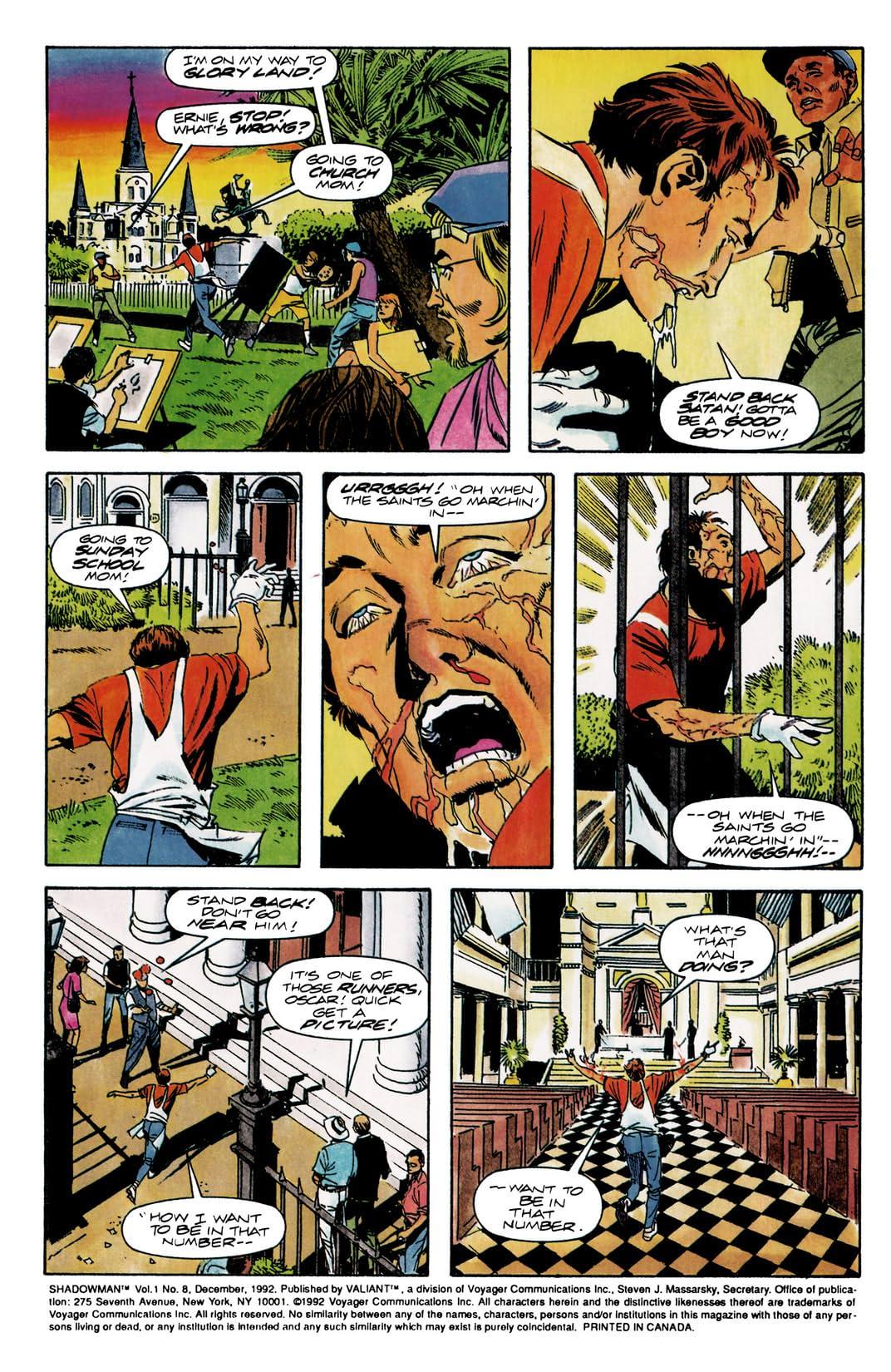 Shadowman (1992-1995) #8