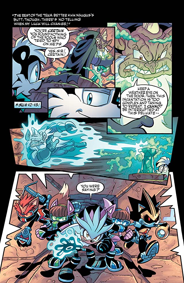 click for super-sized previews of Sonic Universe #44