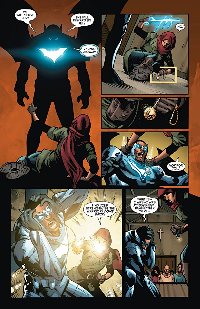 click for super-sized previews of Batwing (2011-2014) #14