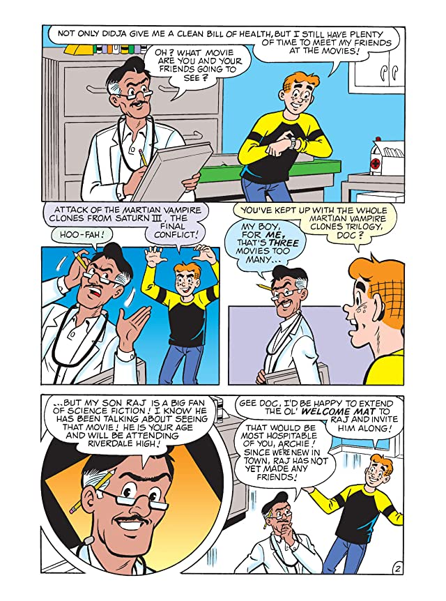 click for super-sized previews of Tales From Riverdale Digest #21
