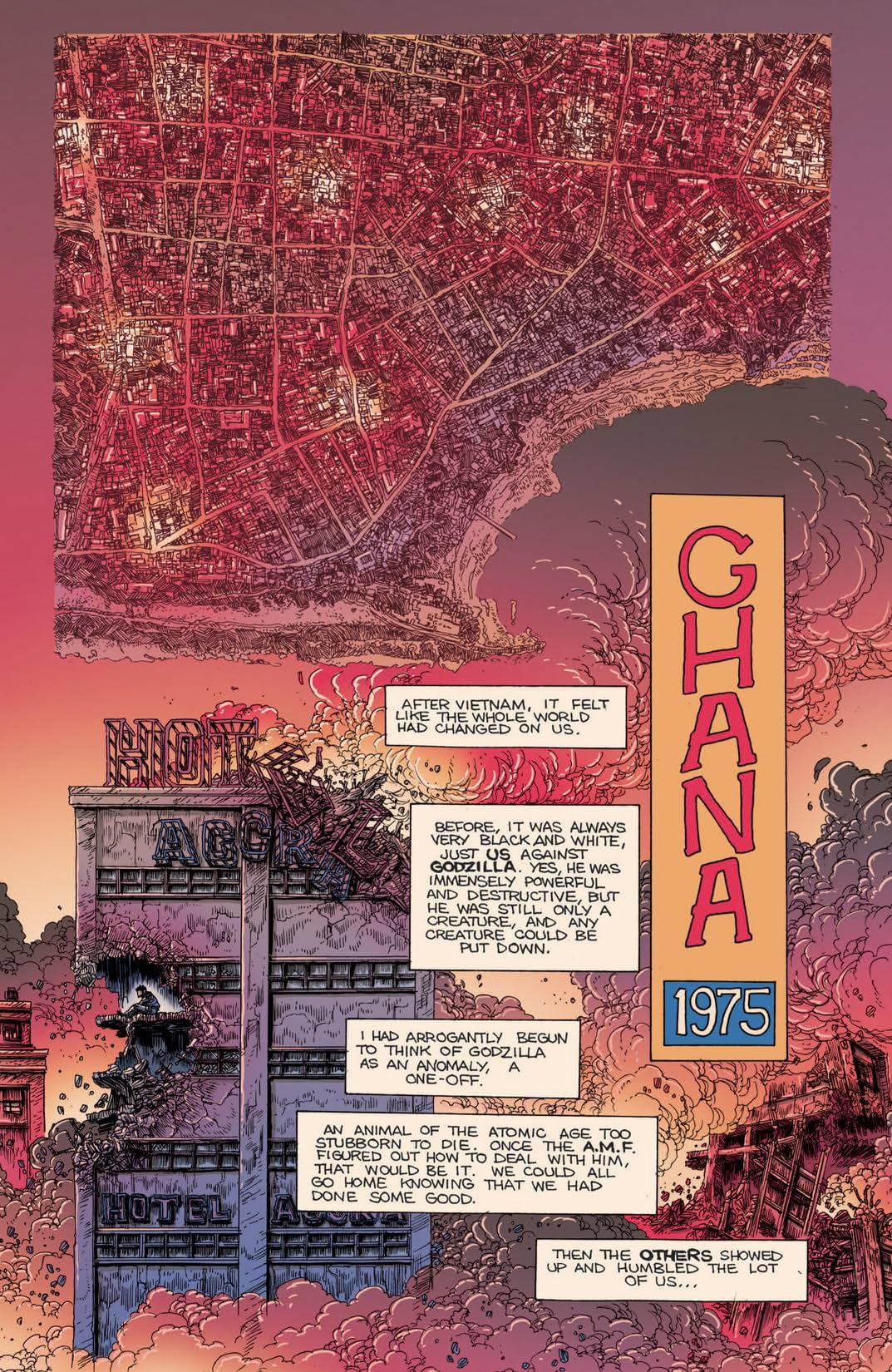 Godzilla Half Century War #3 (of 5)