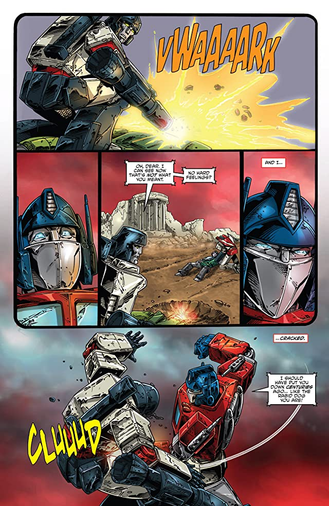 click for super-sized previews of Transformers: Regeneration One #85