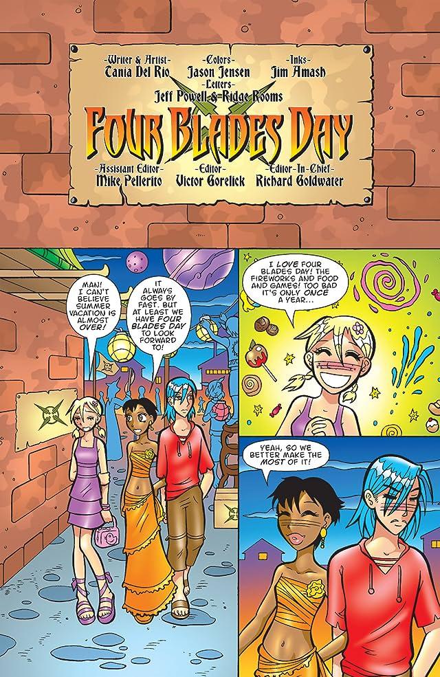 click for super-sized previews of Sabrina Manga #12