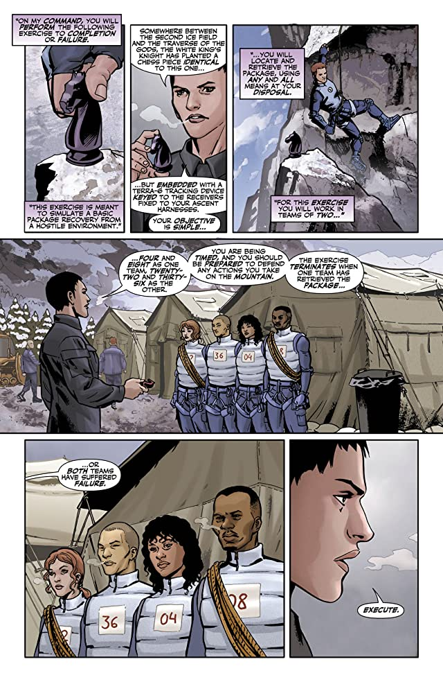 click for super-sized previews of Checkmate (2006-2008) #5