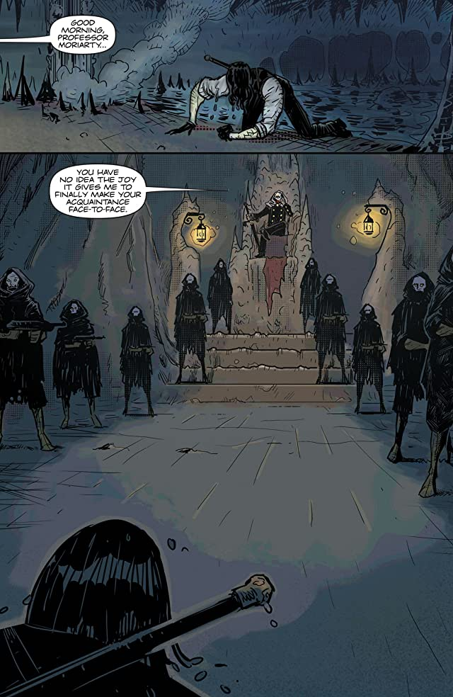 click for super-sized previews of Moriarty #4