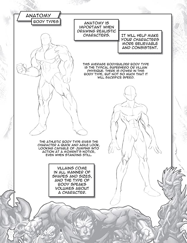 How To Draw Superpowered Villains