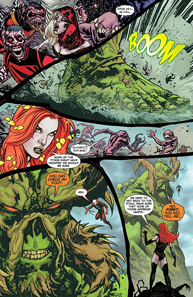 click for super-sized previews of Swamp Thing (2011-2015) #14