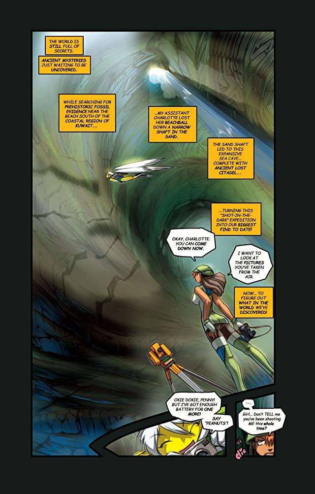 click for super-sized previews of Gold Digger #79