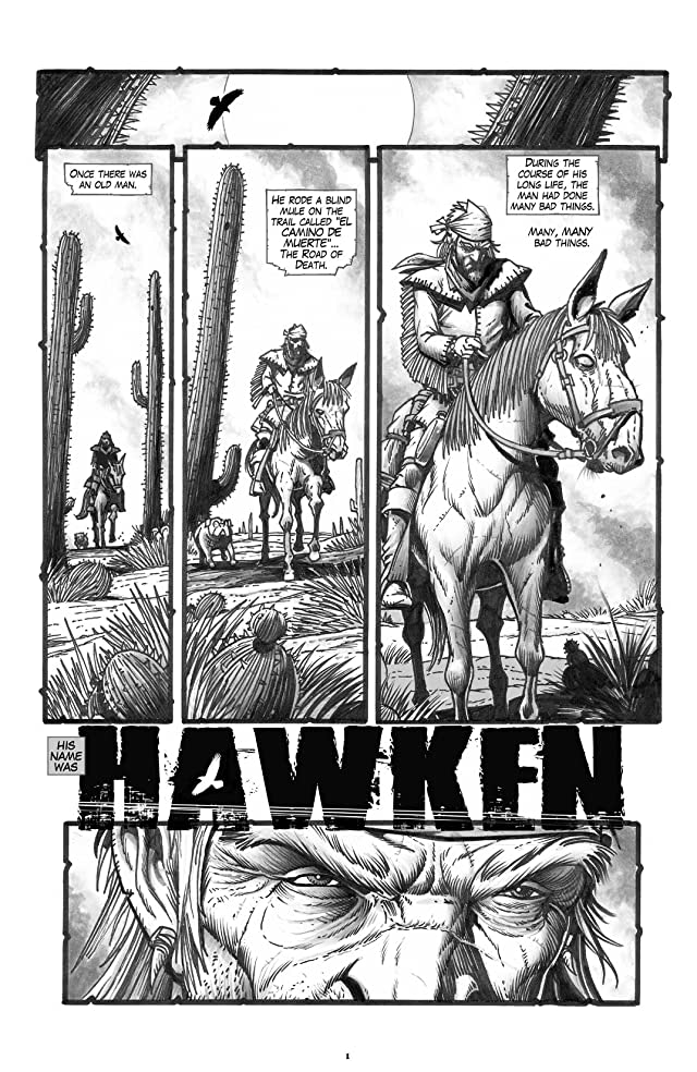 click for super-sized previews of Hawken #1 (of 6)