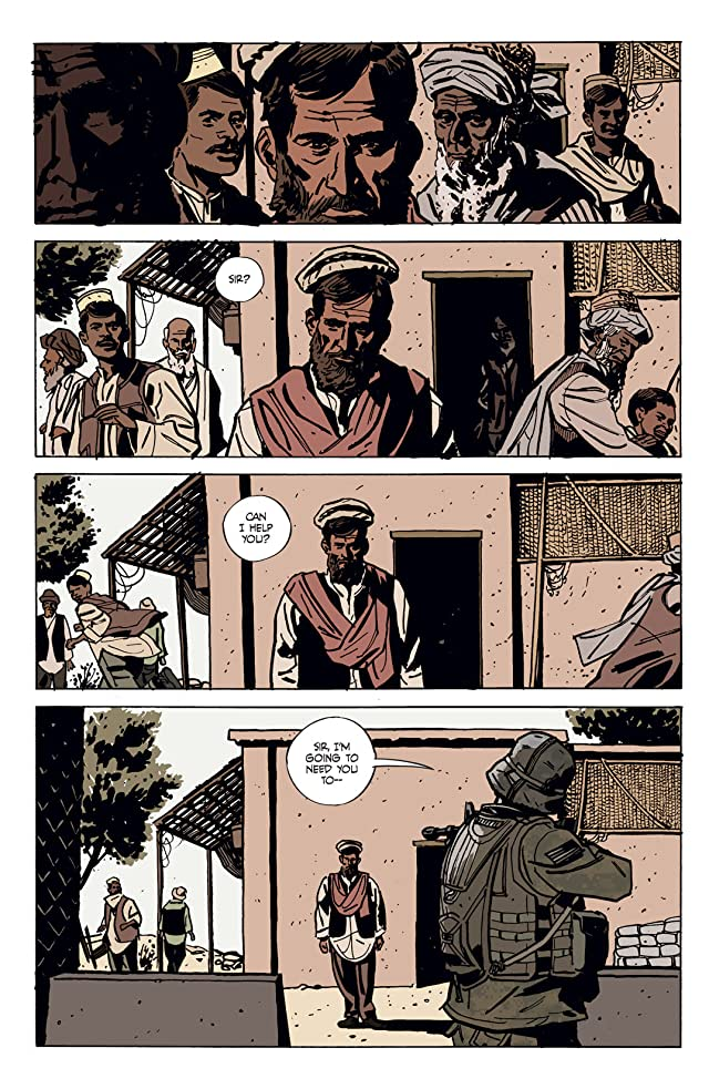 click for super-sized previews of Graveyard of Empires #1