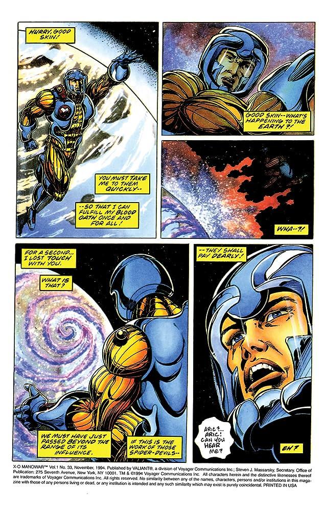 X-O Manowar (1992-1996) #33