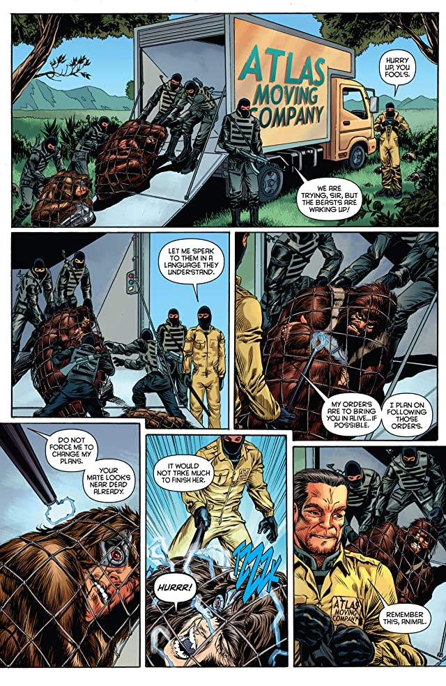 click for super-sized previews of The Bionic Man #14
