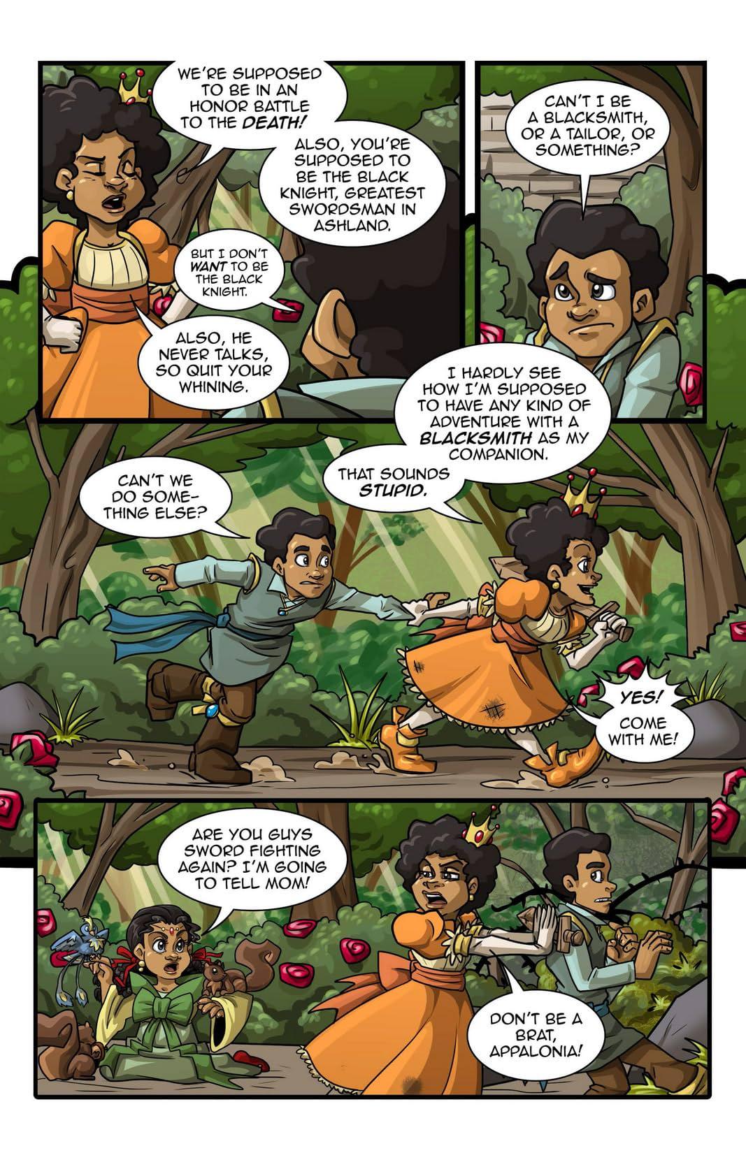 Princeless: Stories For Warrior Women #1 (of 2)