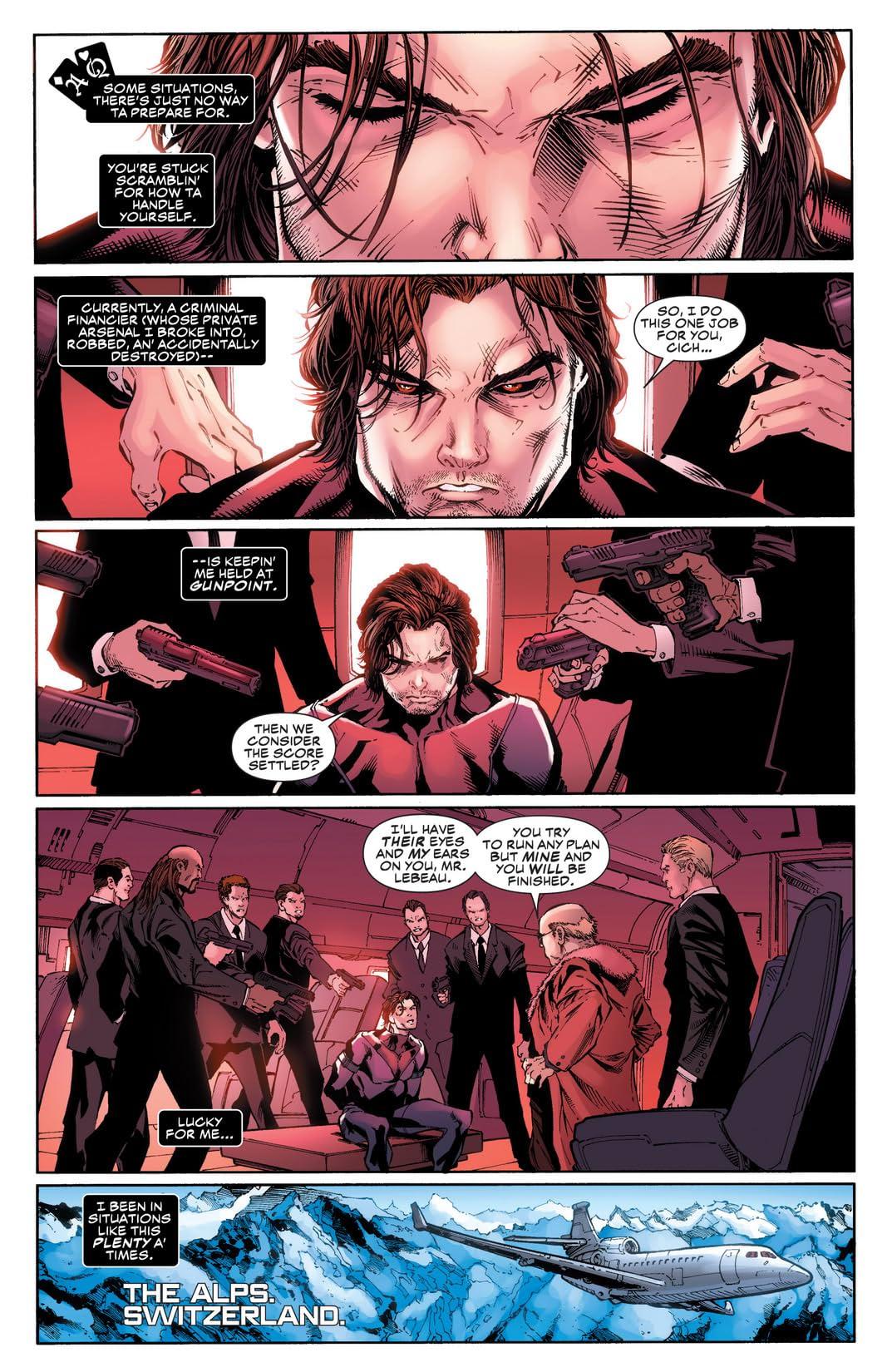 Gambit (2012-2013) #5