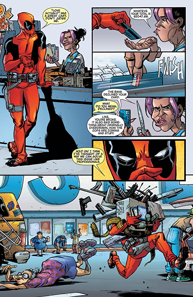 click for super-sized previews of Deadpool Team-Up #883