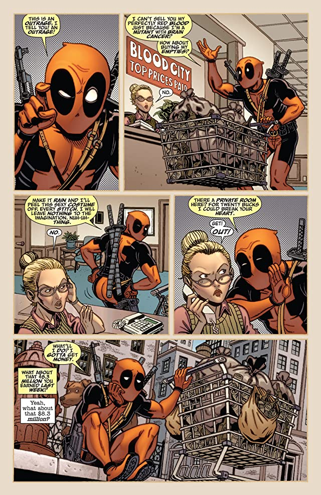 click for super-sized previews of Deadpool Team-Up #884