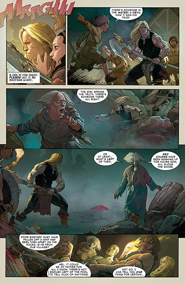 click for super-sized previews of Thor: God of Thunder #1
