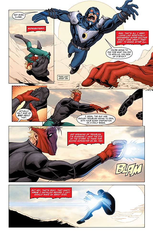 click for super-sized previews of Grifter (2011-2013) #14