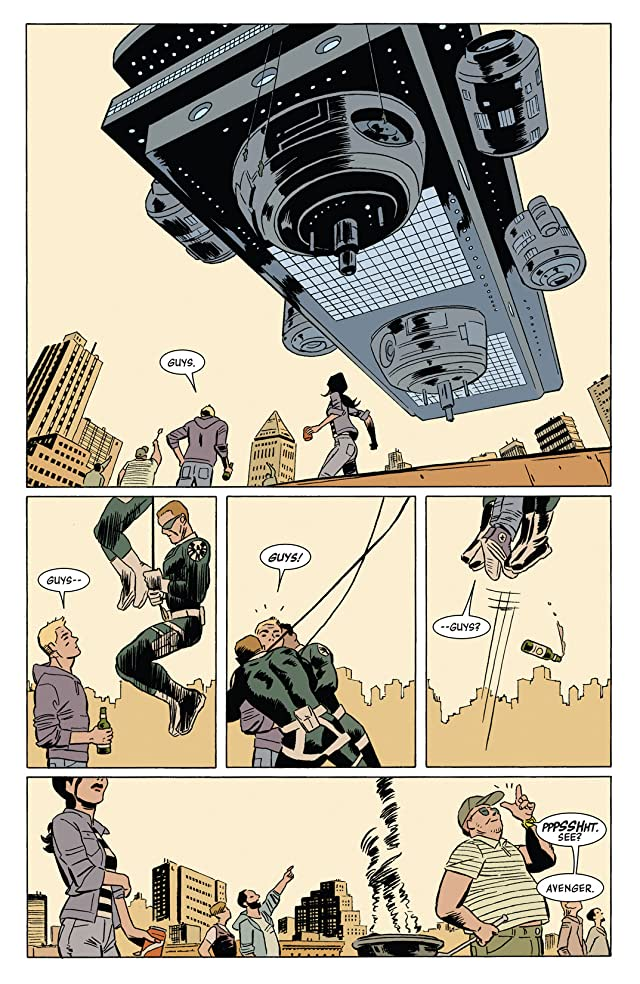 click for super-sized previews of Hawkeye (2012-2015) #4