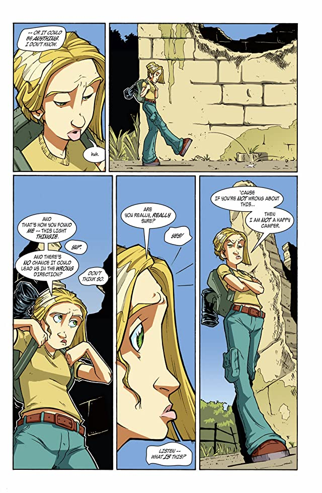 click for super-sized previews of 100 Girls #3