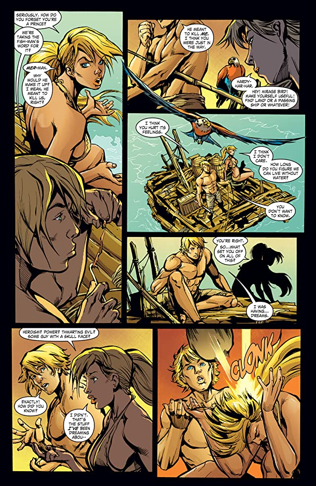 click for super-sized previews of He-Man and the Masters of the Universe #4