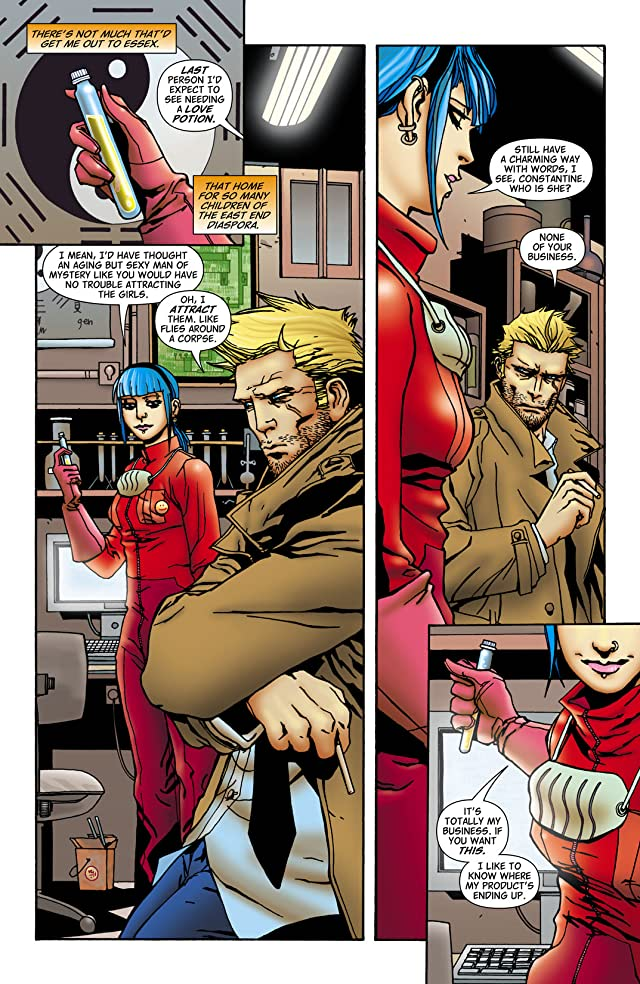 click for super-sized previews of Hellblazer #256
