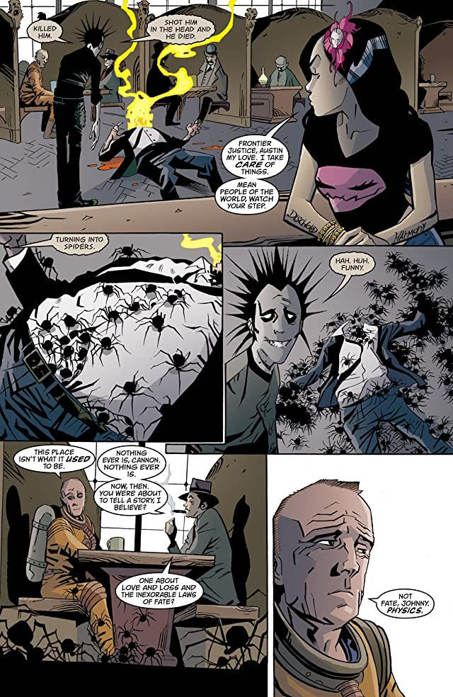 click for super-sized previews of House of Mystery (2008-2011) #36