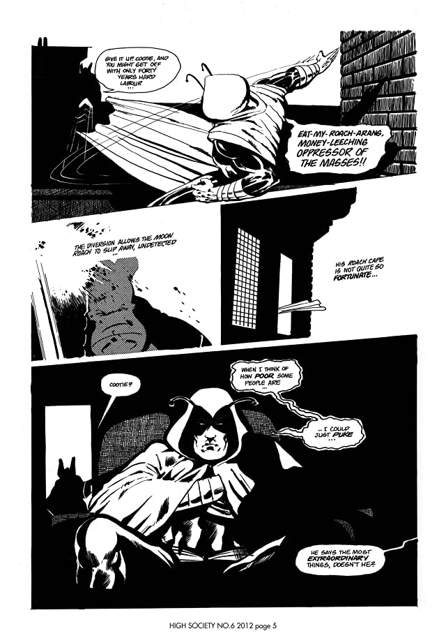 click for super-sized previews of Cerebus Vol. 2 #6: High Society