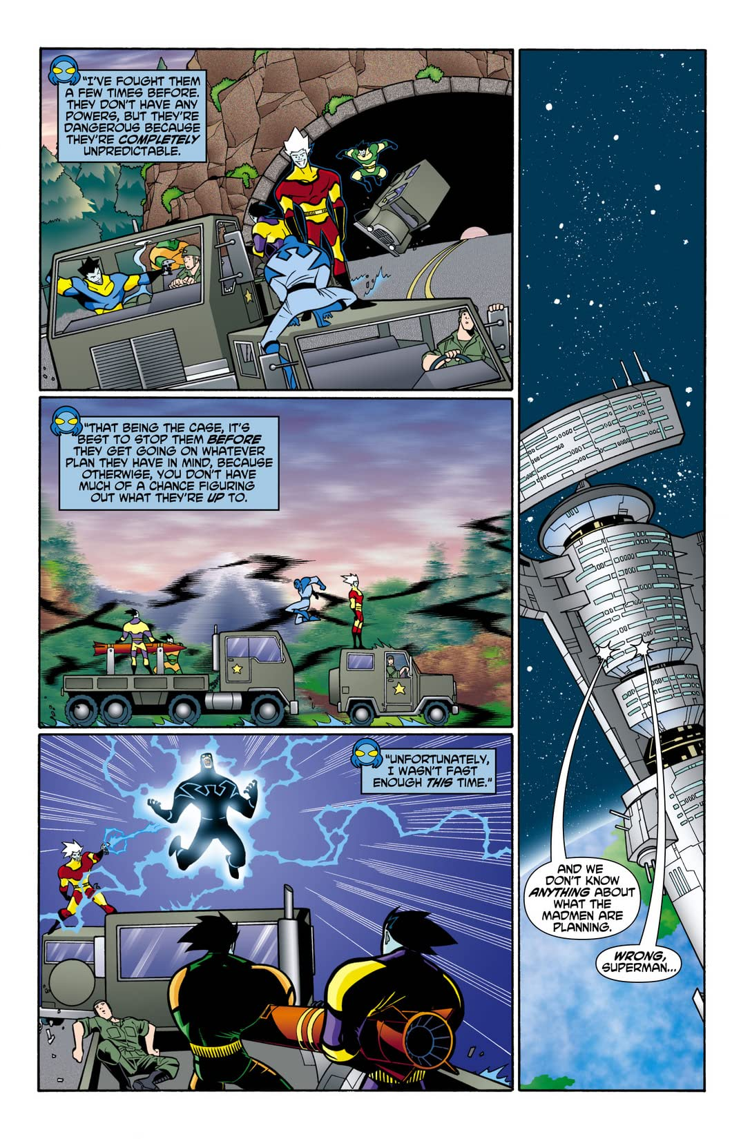 Justice League Unlimited #10