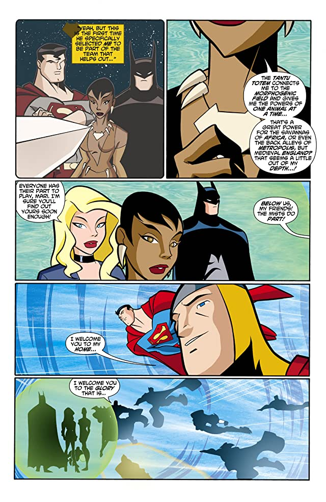 click for super-sized previews of Justice League Unlimited #9