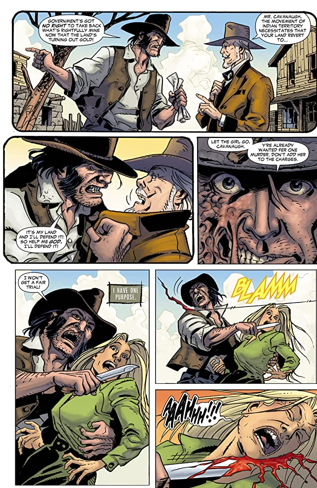 click for super-sized previews of Jonah Hex (2006-2011) #58