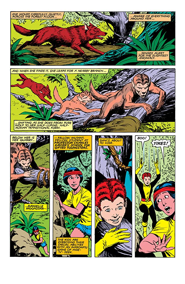 click for super-sized previews of New Mutants (1983-1991) #8