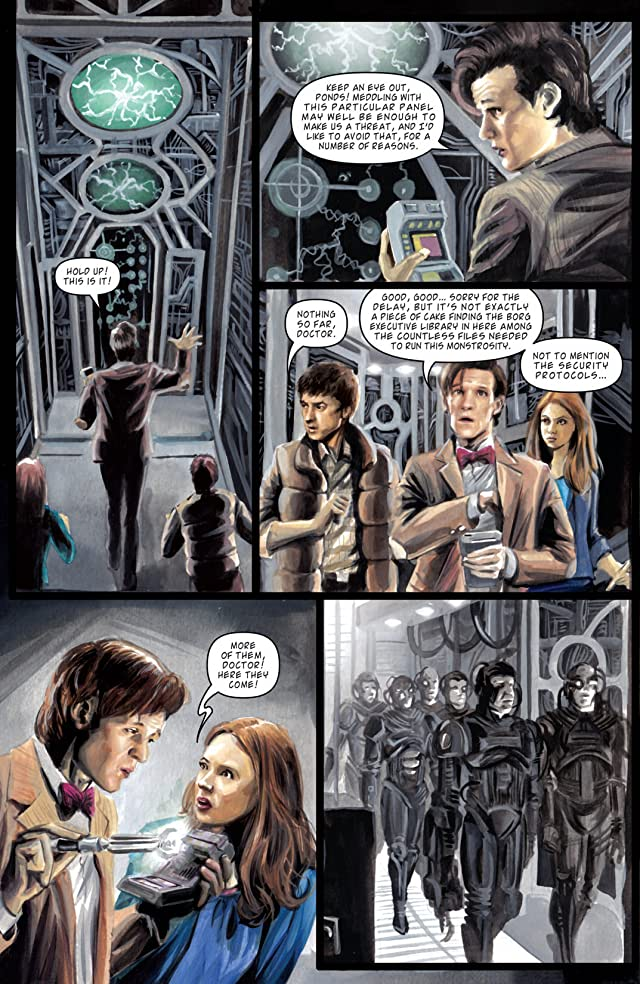 click for super-sized previews of Star Trek: The Next Generation/Doctor Who: Assimilation #7