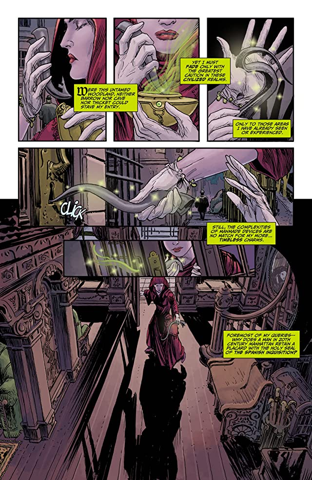 click for super-sized previews of Madame Xanadu (2008-2011) #14