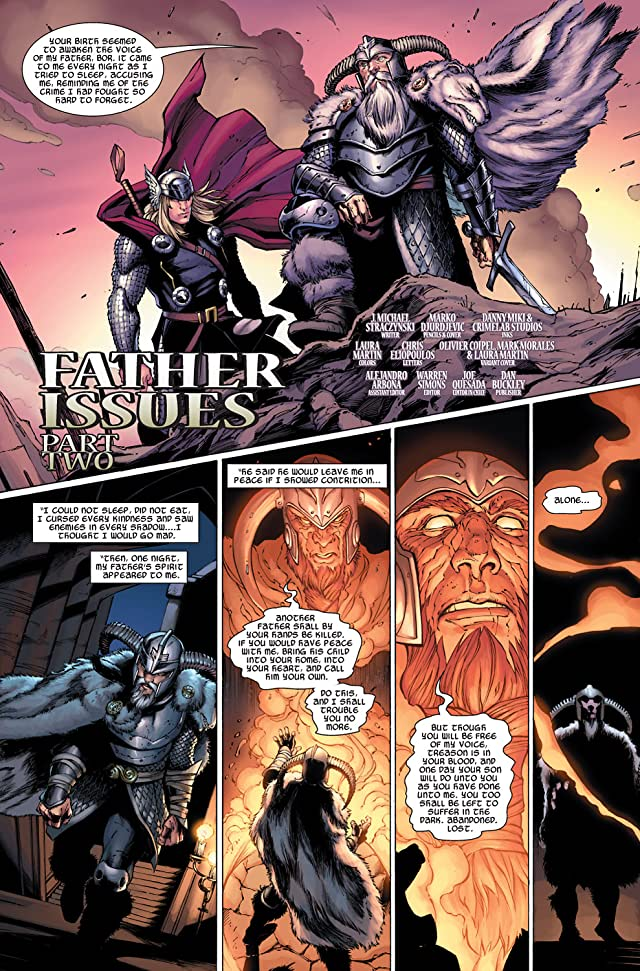click for super-sized previews of Thor (2007-2011) #8