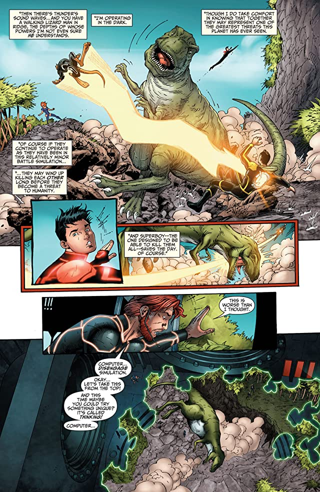 click for super-sized previews of The Ravagers (2012-2013) #6